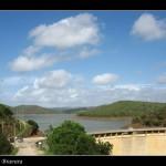 Stausee Barragem da Bravura