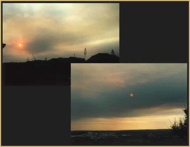 Brände im Monchique Gebirge