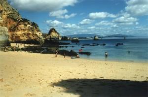Praia do Camilo - kleine Bucht, schnorchel-geeignet