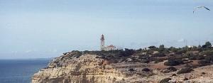 Leuchtturm bei Carvoeiro
