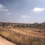 Offenes Bewässerungssystem (Nähe von Silves)