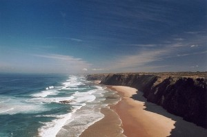 Wandern an den Klippen der Westküste