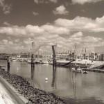 Brücke Promenade - Hafen