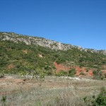 Rückweg vom Rocha da Pena