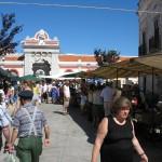 Markttreiben in Loulé