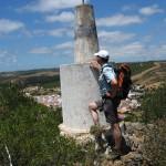 Bensafim - Am Gipfel