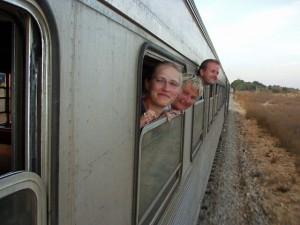 Mit dem Zug durch die Algarve
